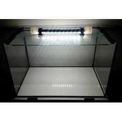 Nano Becken inkl. Glas-Schiebe-Abdeckung  + SPEZIAL LED