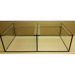 Aquarium 100x50x30 cm / 2 Abteilungen