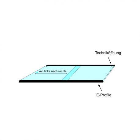 Glas – Schiebeabdeckungen