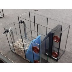 Mobiler 3 Kammer Innenfilter 150, mit zusätzlicher Bodenansaugung