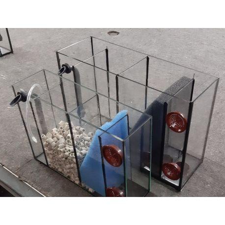 Mobiler 3 Kammer Innenfilter 100, mit zusätzlicher Bodenansaugung