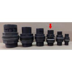 Tankdurchführungen PVC U (25/32 mm)