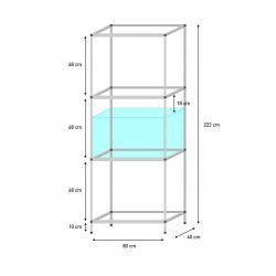 Shelf 80 x 40 x 50 cm